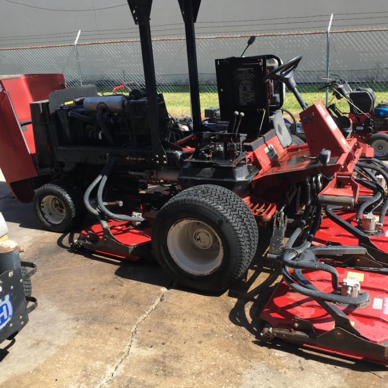 Toro 4500D 4WD Rotary Rough Unit