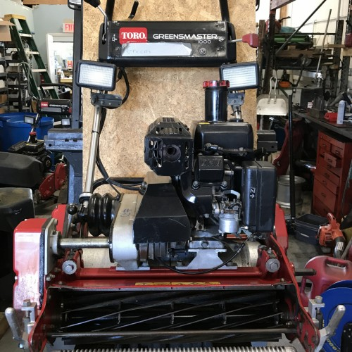 Toro 1000 Walking Greens Mowers